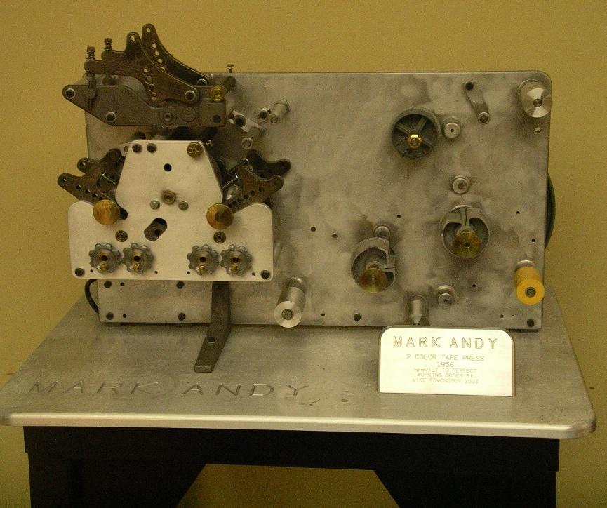 1956 Mark Andy Tape Press.jpg