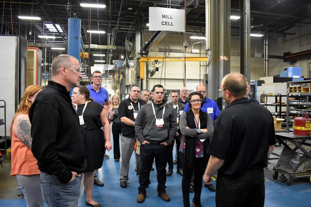 Tour of Mark Andy Manufacturing Plant