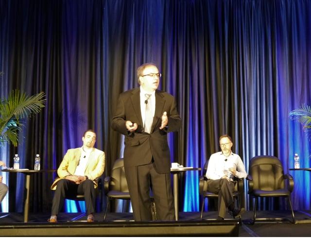 Ray Dickinson, speaking on the digital hybrid press Digital Series