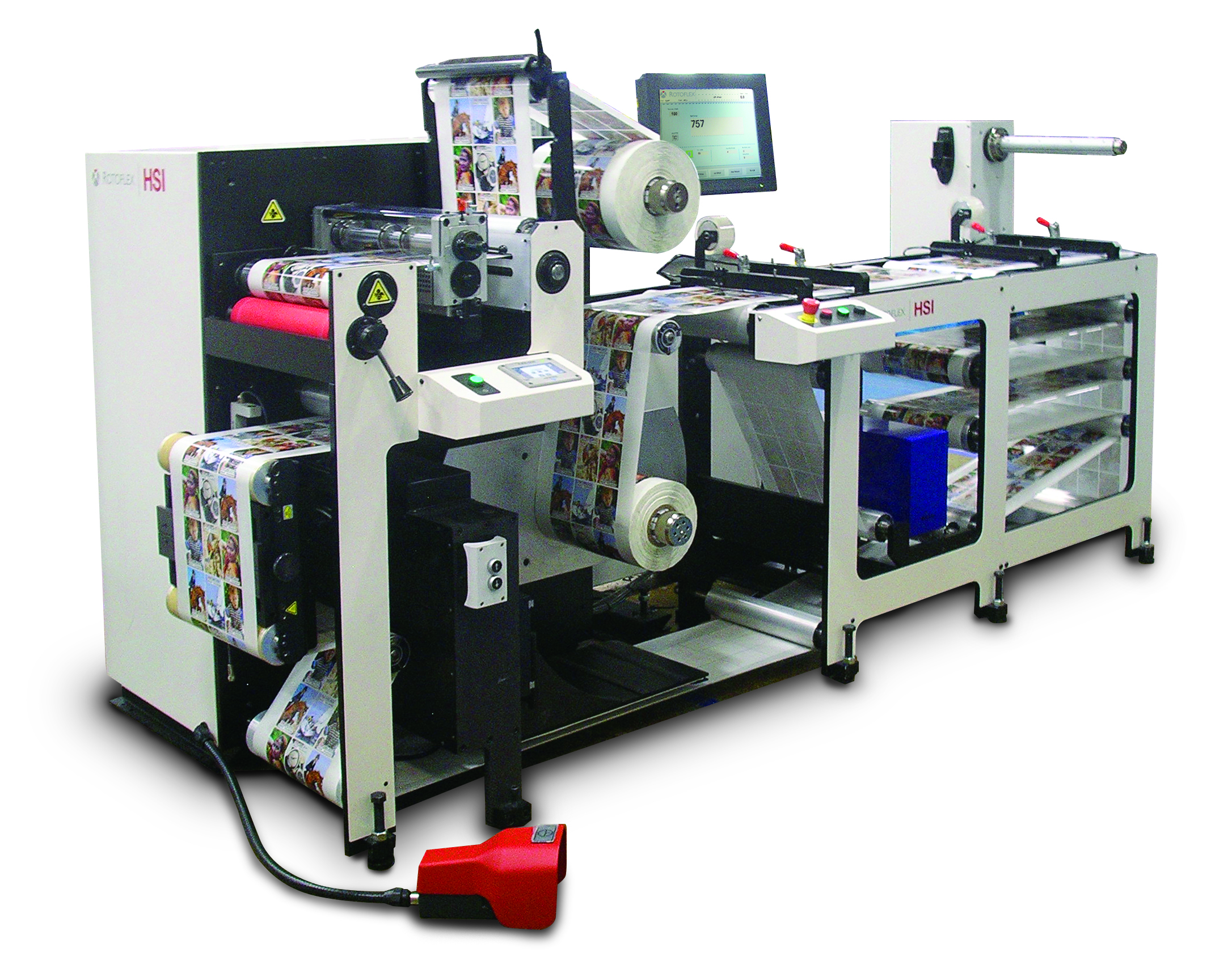 Rotoflex HSI Debut at Labelexpo Europe