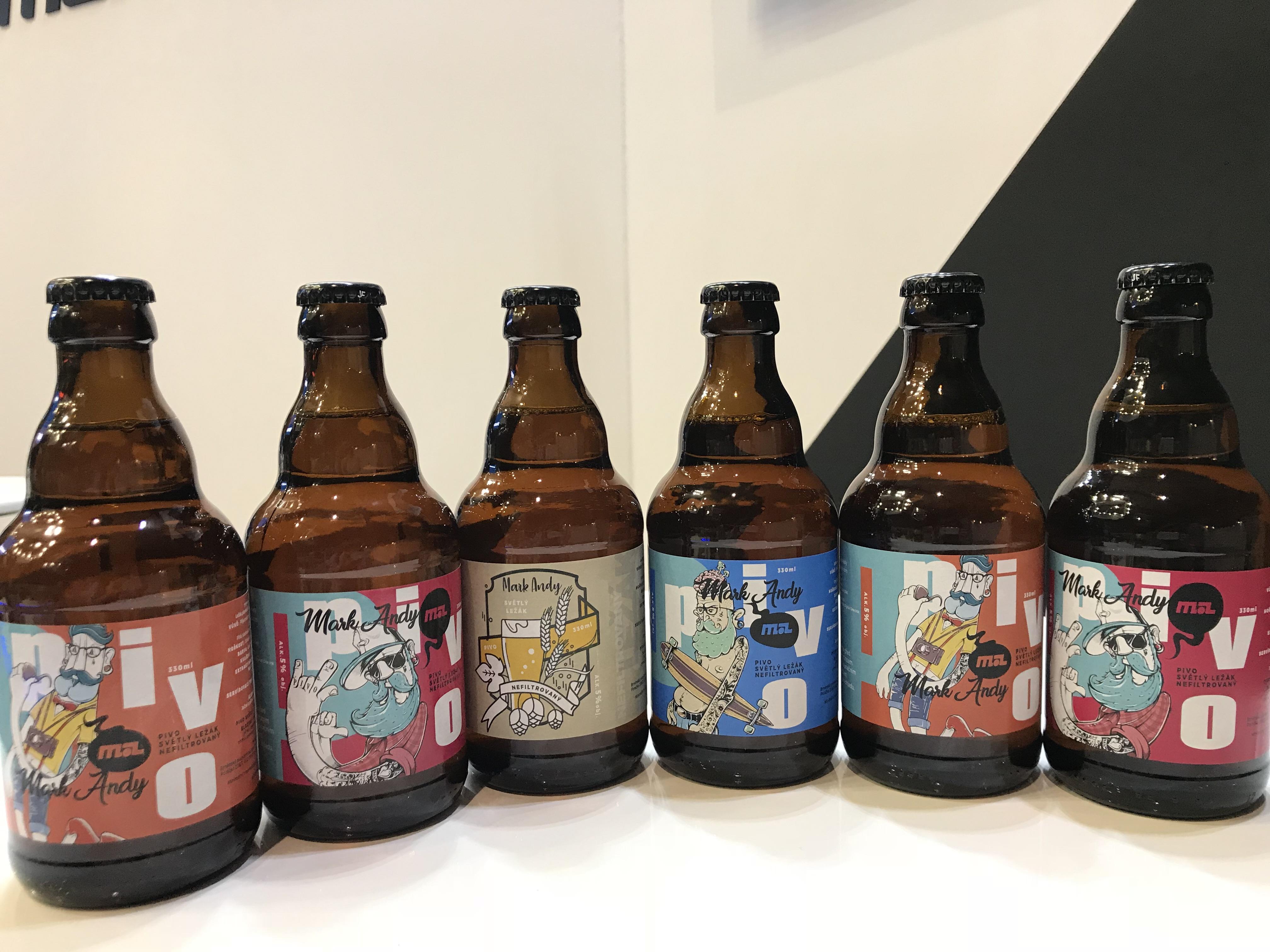 Beer Labels Printed at Reklama Polygraf