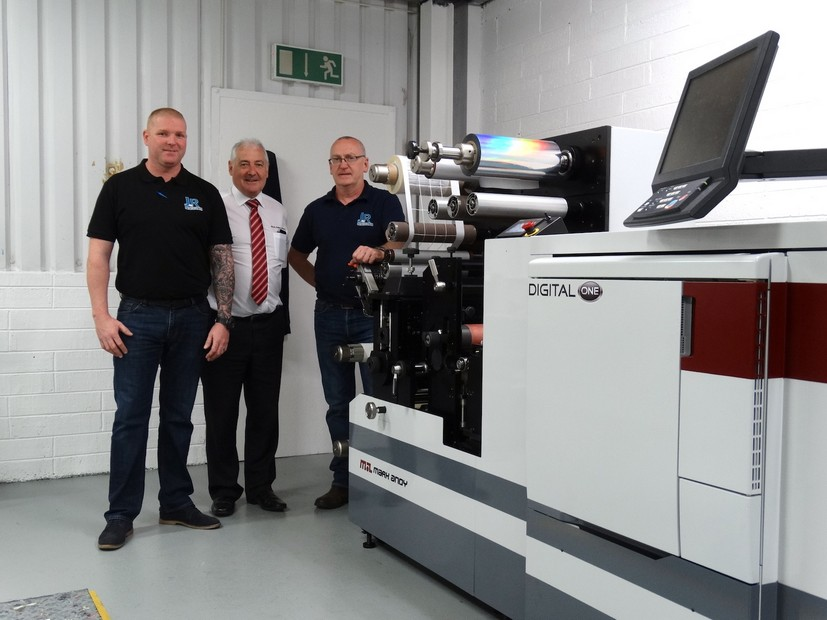 JR Labels in Dublin installs Mark Andy Digital One